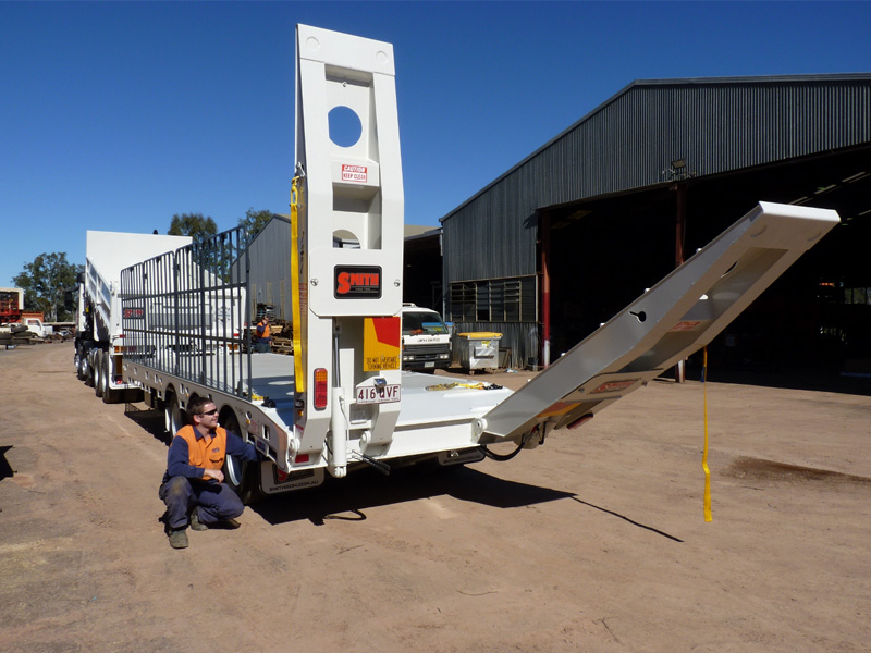 Smith Lowloader ramps